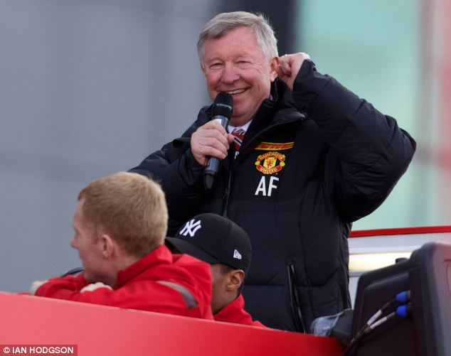 National pastime: Sport dominated the top ten, with Sir Alex Ferguson's retirement at number five