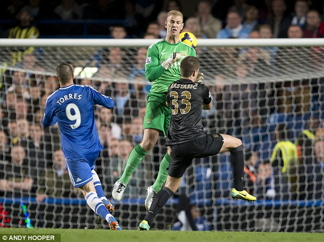 Late drama: Fernando Torres scored the winner when Chelsea beat Manchester City in October