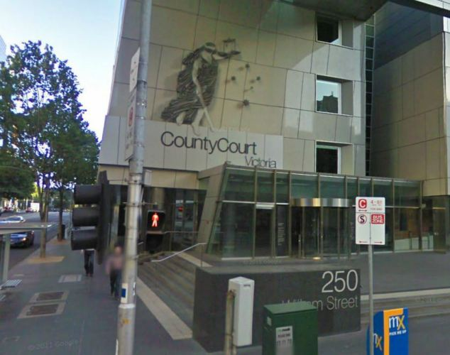 The County Court in Victoria (pictured) heard Noureldin Derwish threatened to kill the families of his victims - one a 17-year-old girl - if they didn't have sex with him