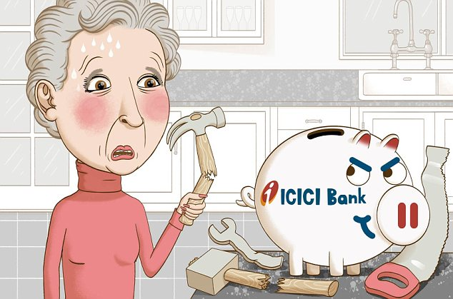 Lost money: ICICI, whose base is in India, has had a UK presence for just over ten years now