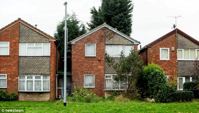 Before: Mr Mould was fined £1,000 by Stafford Magistrates' Court after refusing to trim his home on council orders