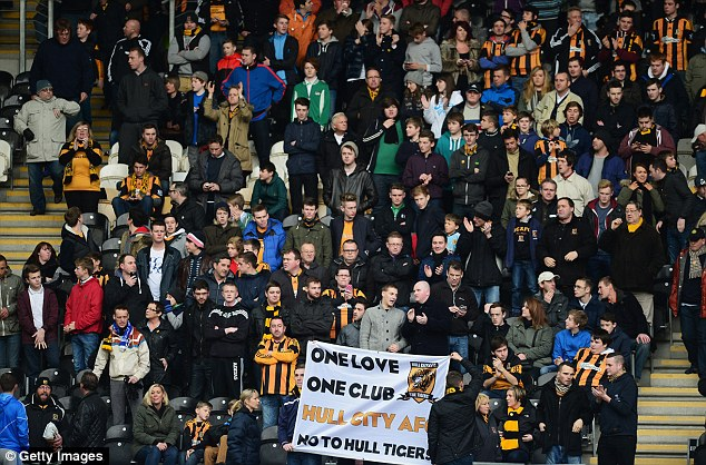 Opposition: Hull City fans have protested vociferously against the planned name change