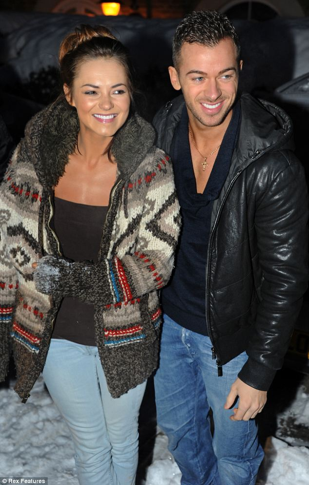 Strictly couple: Kara and her professional dancing partner on the show Artem became a couple after winning the series in 2010
