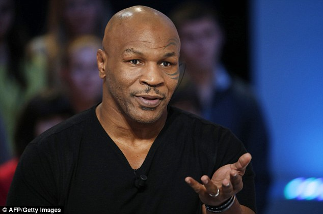 Hitting out: Mike Tyson has claimed today's generation of boxers don't have the hunger to succeed