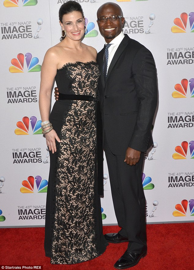It's over: Best Man Holiday star Taye Diggs and Wicked musical theatre star Idina Menzel have split after ten years together