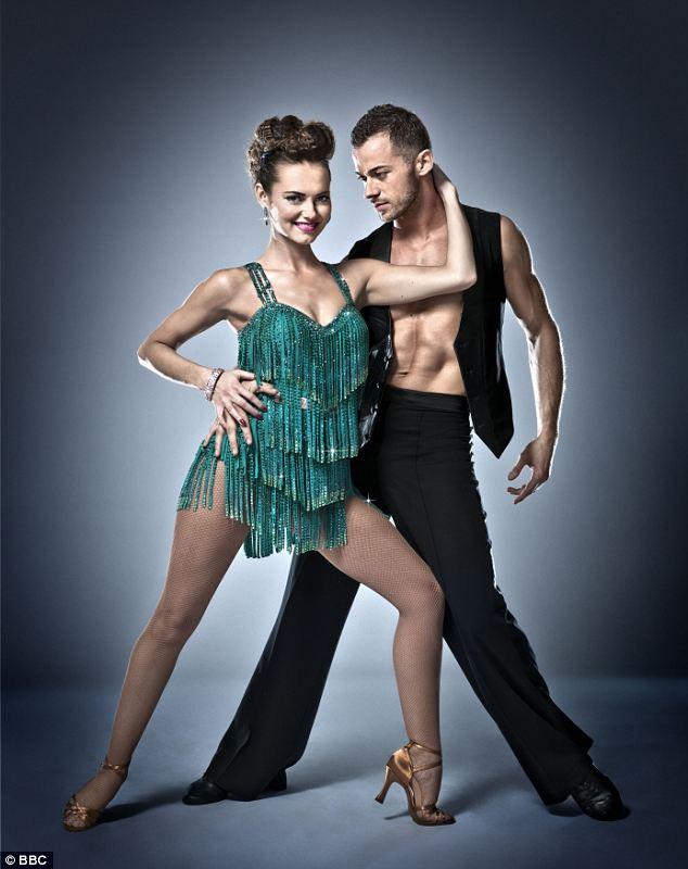 Passion: Kara and Artem got together after dancing on Strictly
