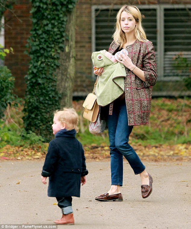 Ghost hunter: The socialite went on a paranormal search as part of her short-lived TV series OMG! With Peaches Geldof