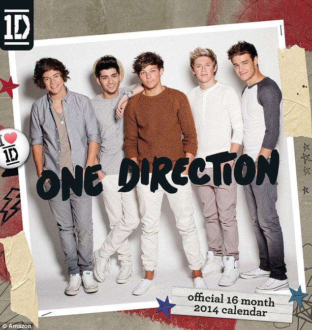 It's official: One Direction are Britain's top pin-ups, selling more calendars than any other celebrity according to Amazon's all-time bestseller list