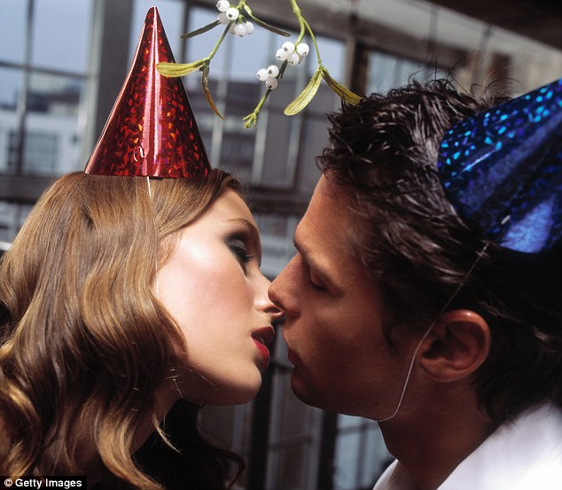 Be safe: Christmas festivities can also lead to some unplanned pregnancies if contraception is forgotten in a drunken fling