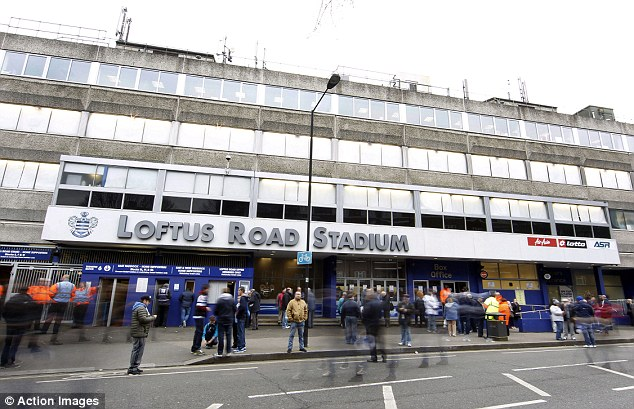 Current home: QPR intend to double their current 18,000 capacity at Loftus Road to 40,000 at their new stadium