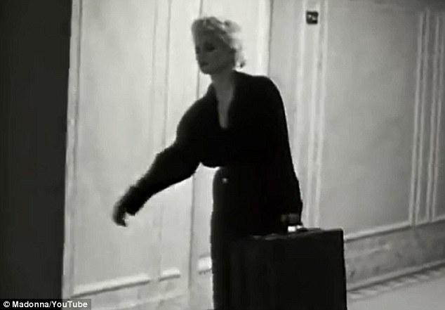 Original: In Justify My Love, Madonna followed a similar down an eery corridor