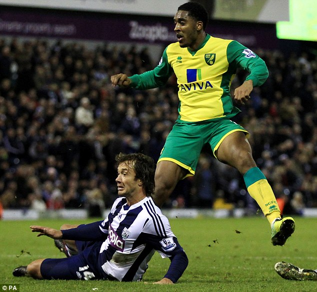 Fringe character: West Brom defender Diego Lugano could be on the move from the Midlands club