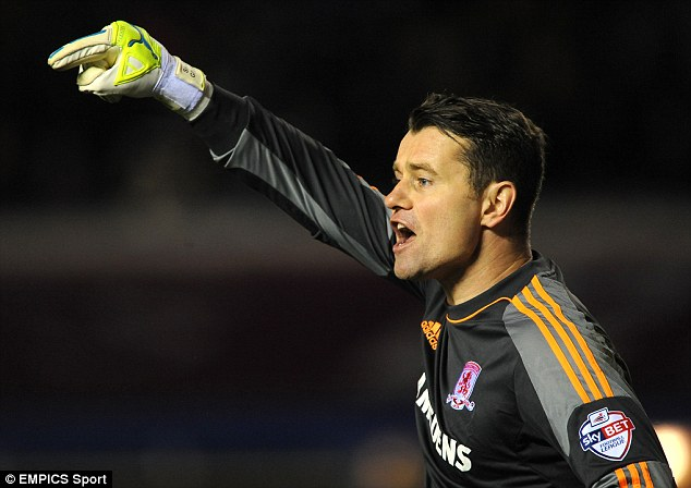 In demand: Shay Given has impressed so far while at Middlesbrough