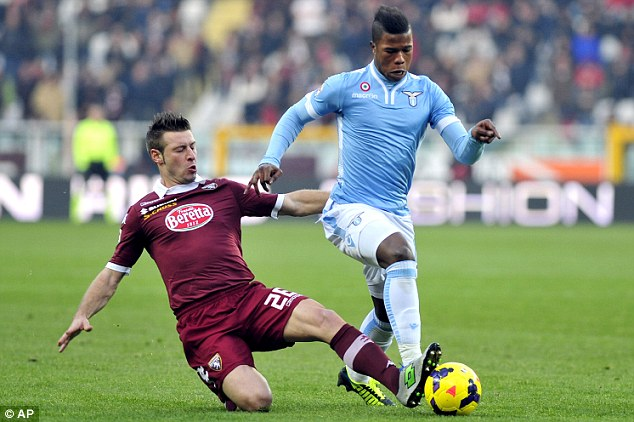 In the hunt: 18-year-old Keita Balde Diao is being tracked by Manchester City
