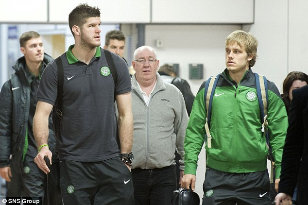 Attracting attention: England and Celtic goalkeeper Fraser Forster has dazzled this season