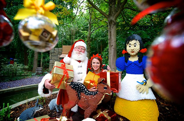 Father Christmas at Legoland