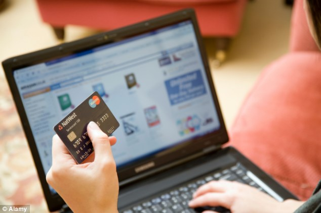 Shop struggle: High Street stores are under pressure to tempt people to not buy online