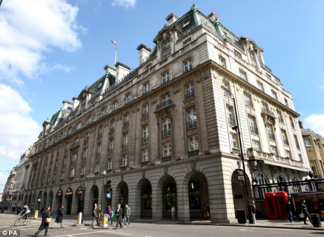 The Ritz Hotel in Central London was criticised by disability campaigners for no offering full accessibility through the main entrance