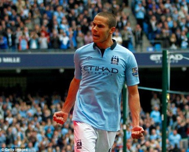 Potential: Jack Rodwell may have to move away from Manchester to get a World Cup spot