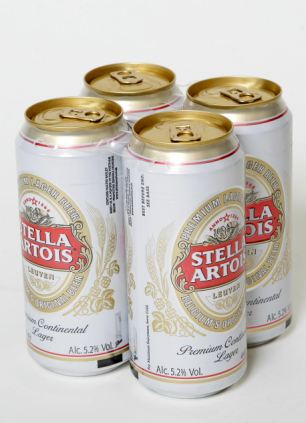 Tipple: Mr Pickston favoured Stella Artois, a strong lager of 4.8 to 5.2 per cent, his brother said