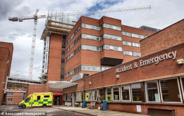 Tragic: Victor Pickston, 51, died in intensive care at St George's Hospital in Tooting, south London (pictured) - not because of a serious bicycle crash he had suffered, but because he missed his usual dose of Stella Artois