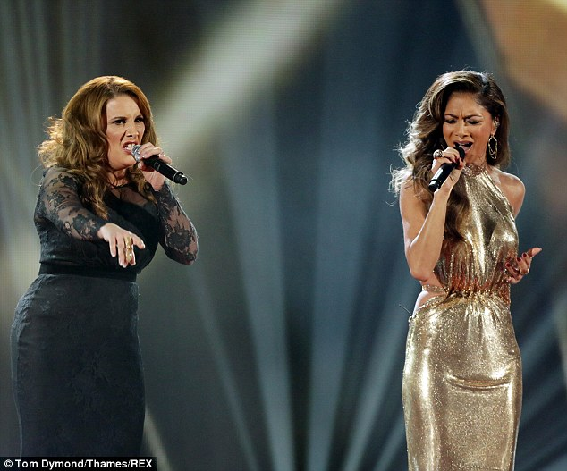 Emotional: There didn't need to be a background story to see the emotion both performers put into the song