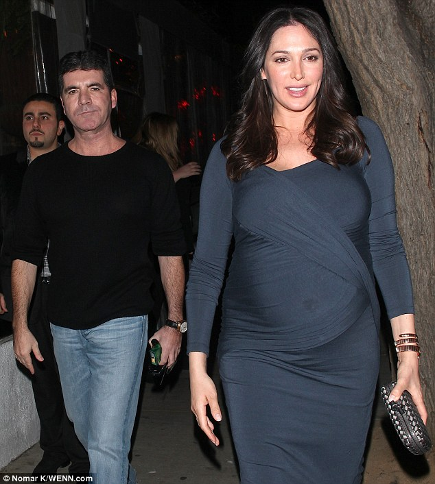 Wined and dined: The couple enjoyed another dinner date in Los Angeles