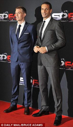 Darren Fletcher and Rio Ferdinand