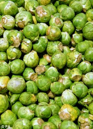 They may have a bad reputation but sprouts are more popular than pudding at Christmas