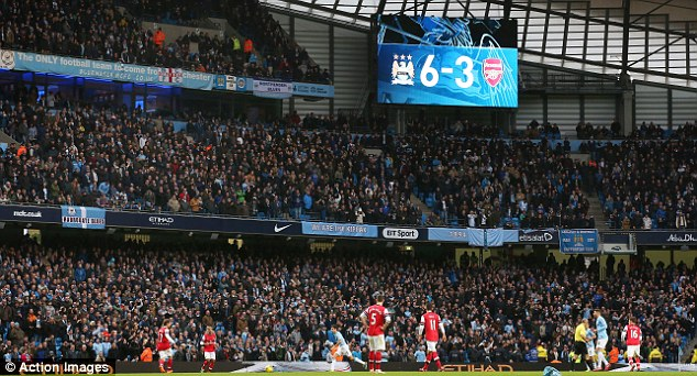 Goals galore: Manchester City's 6-3 victory over Arsenal on Saturday reminded us how special the division is