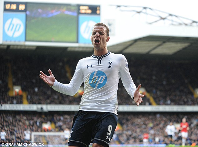 The cost of spending: Roberto Soldado cost Spurs £26million from Valencia, but has scored just four Premier League goals... so is a £4million pay-off nothing compared to money thrown away by managers?