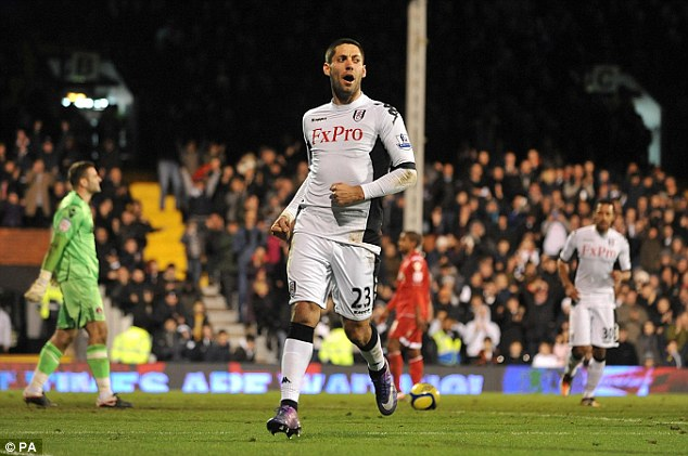 Return? Fulham continue to attempt to bring former forward Clint Dempsey back to the club for the US off-season