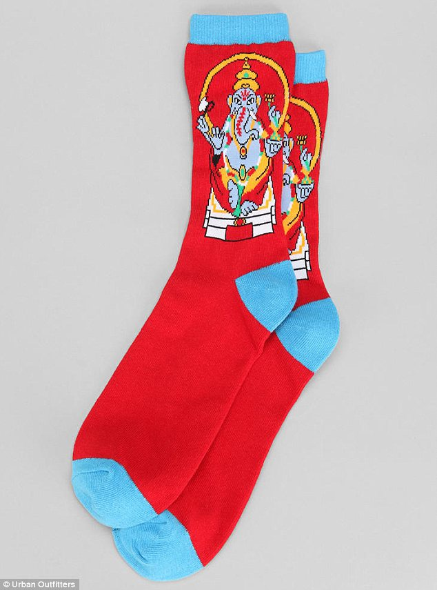 Urban Outfitters's $8 Ganesh socks sparked backlash in December from the Hindu community