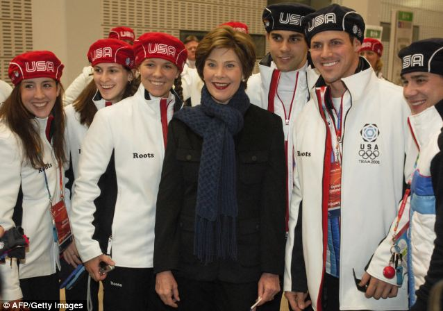Laura Bush went to Turin, Italy in 2006 to lead the U.S. delegation for the Winter Olympics, but this time the highest-ranking official will be from the State Department