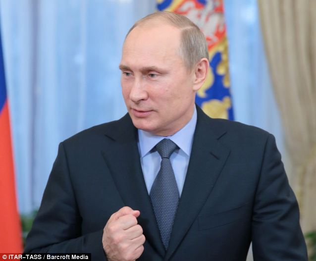 Slighted: Russian President Vladimir Putin won't see his American counterpart in Sochi, or anyone within arm's reach of the U.S. president