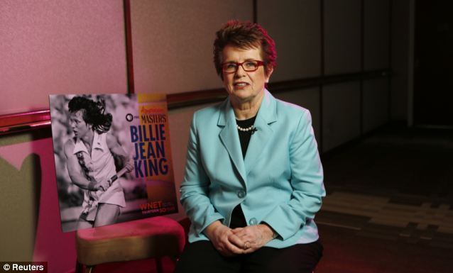 Gold-medal contrarian: Former tennis star Billie Jean King, who is openly gay, will represent America's objection to Russia's legal prohibitions against public displays of homosexual lifestyles