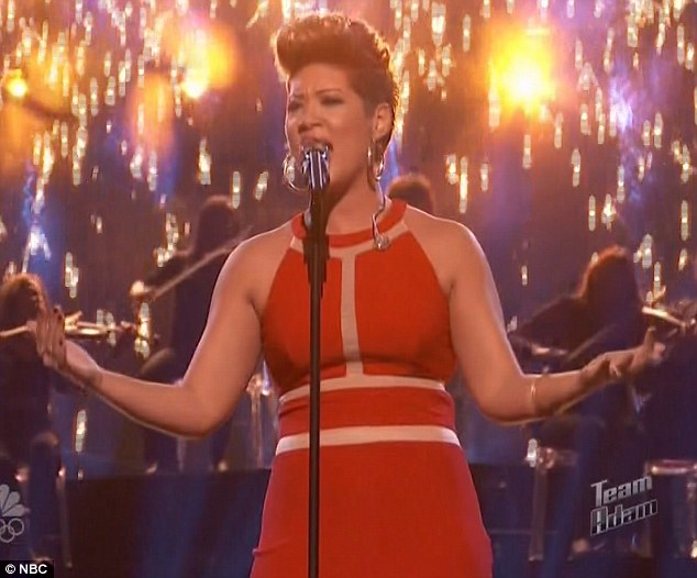 In it to win it: Tessanne Chin impressed her mentor Adam Levine yet again