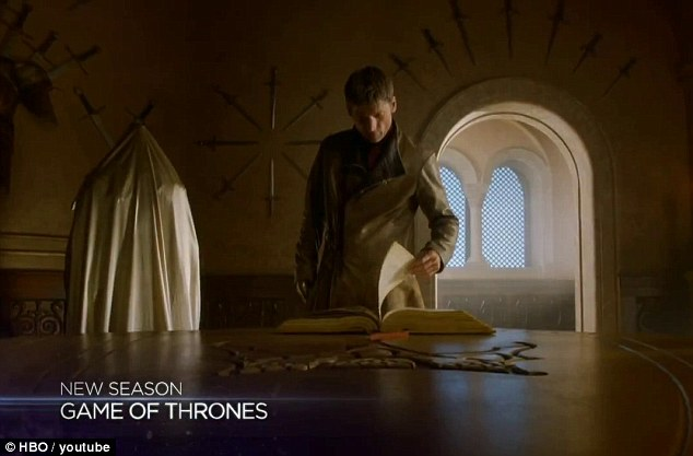 Scrubs up well: Jaime Lannister gains an iron hand, but loses his place as a knight in the Kingsguard