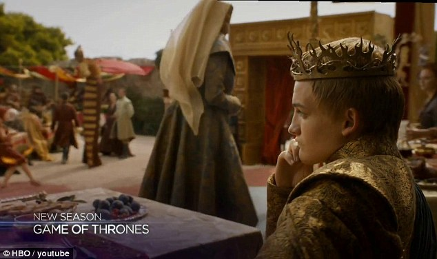 Yes, he's not dead yet: King Joffery (Jack Gleeson) remains the tyrannical ruler of Westeros