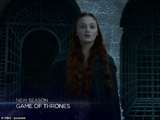 What next? Sansa Stark learns of the murder of her mother and brother at the Red Wedding, and is now married to Tyrion Lannister, but still looks hopeful