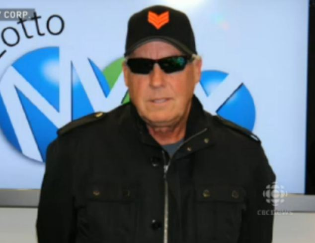 Tom Crist, 64, won the lottery last year but kept it a secret until yesterday when he announced he would be donating his $40million windfall to cancer charities