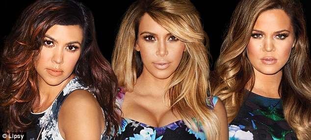 They're back! Kourtney, Kim and Khloe Kardashian have unveiled their new collection for Lipsy