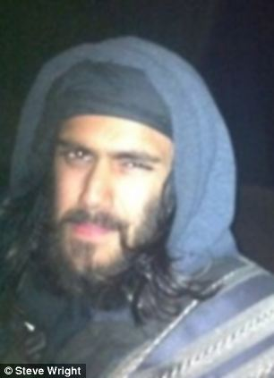 Boasts: One of the last images of Ifthekar Jaman, who died while fighting with al-Qaeda in Syria