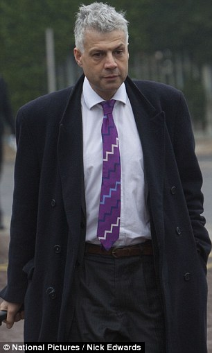 'Cross-fire': Anthony Metzer QC, defending Elisabetta Grillo, told the court the Grillos had been caught in the cross-fire between the warring couple