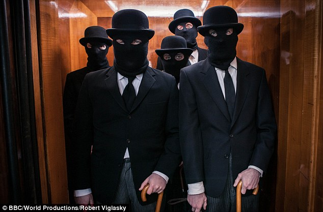 Balaclava boys: The robbery was rehearsed and planned, beginning at Heathrow Airport in November 1962