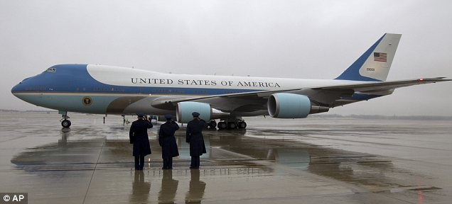 Pricey! When Air Force One took off for South Africa from Andrews Air Force Base, it cost the Defense Department nearly $180,000 per hour to operate -- costs that also weren't included in the $11.5 million travel budget