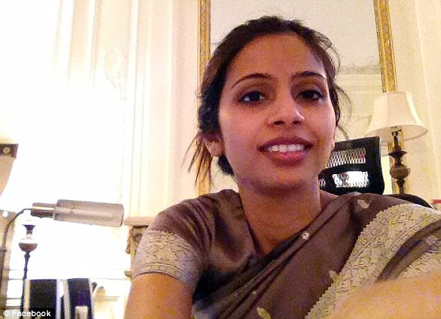 Every day a smile: Sangeeta's first impressions and description of her employer Devyani Khobragade, above, were positive as she embarked on her life in service in New York
