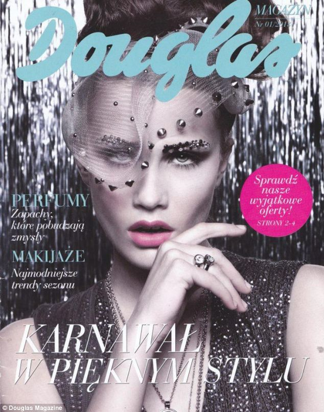 Syndicated content: Vogue Mexico's editor says that the magazine was not involved in the production of Borawski's shoot and that her photographs were purchased as syndicated content