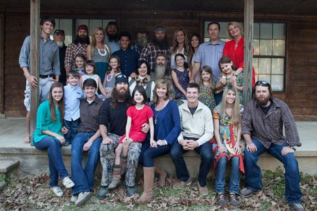 United they stand: The stars of the reality TV series 'Duck Dynasty' have called into question the show¿s future after the family¿s patriarch was put on hiatus by the network
