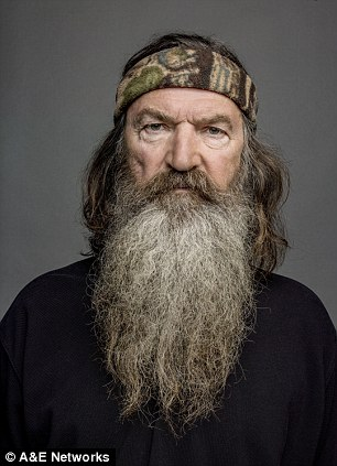 The end? The famiily of Phil Robertson, 67, said they cannot imagine hit A&E show Duck Dynasty continuing without him - leading to speculation the show is over